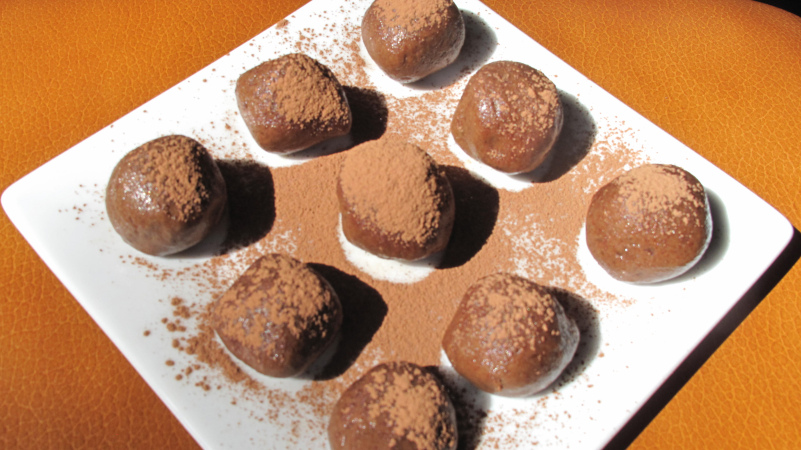 These coco pepita balls are the bomb. 'Nuff said.