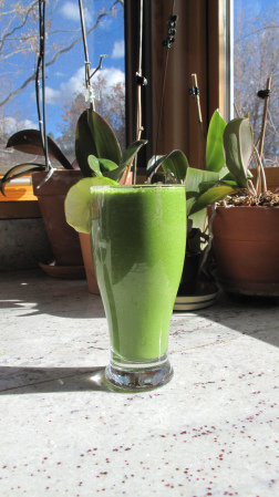 Cleanse and nourish your bod with this lean, green, smoothie.