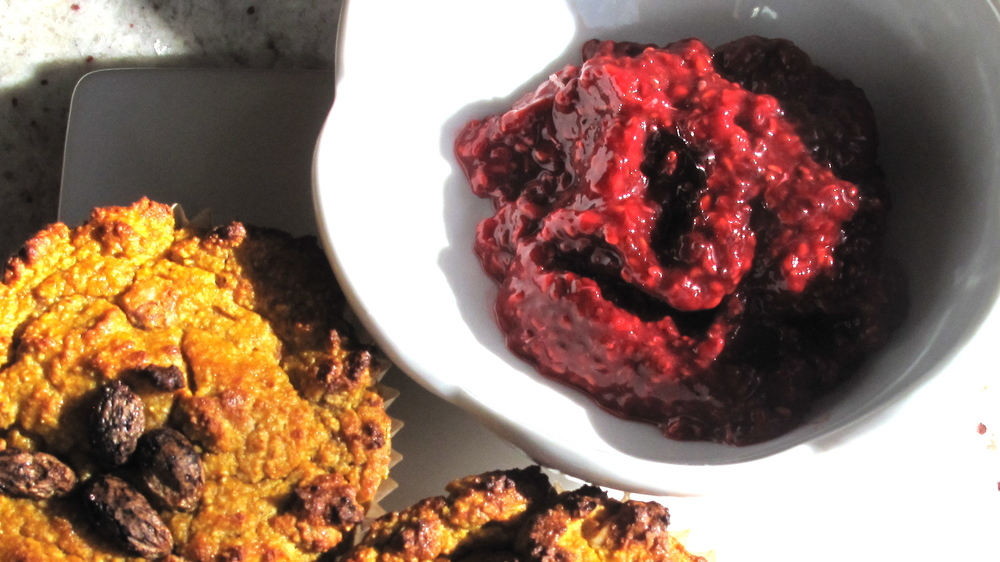 Smear a dollup of these preserves on a homemade muffin, or swirl them in your yogurt for an added boost of berry bliss!
