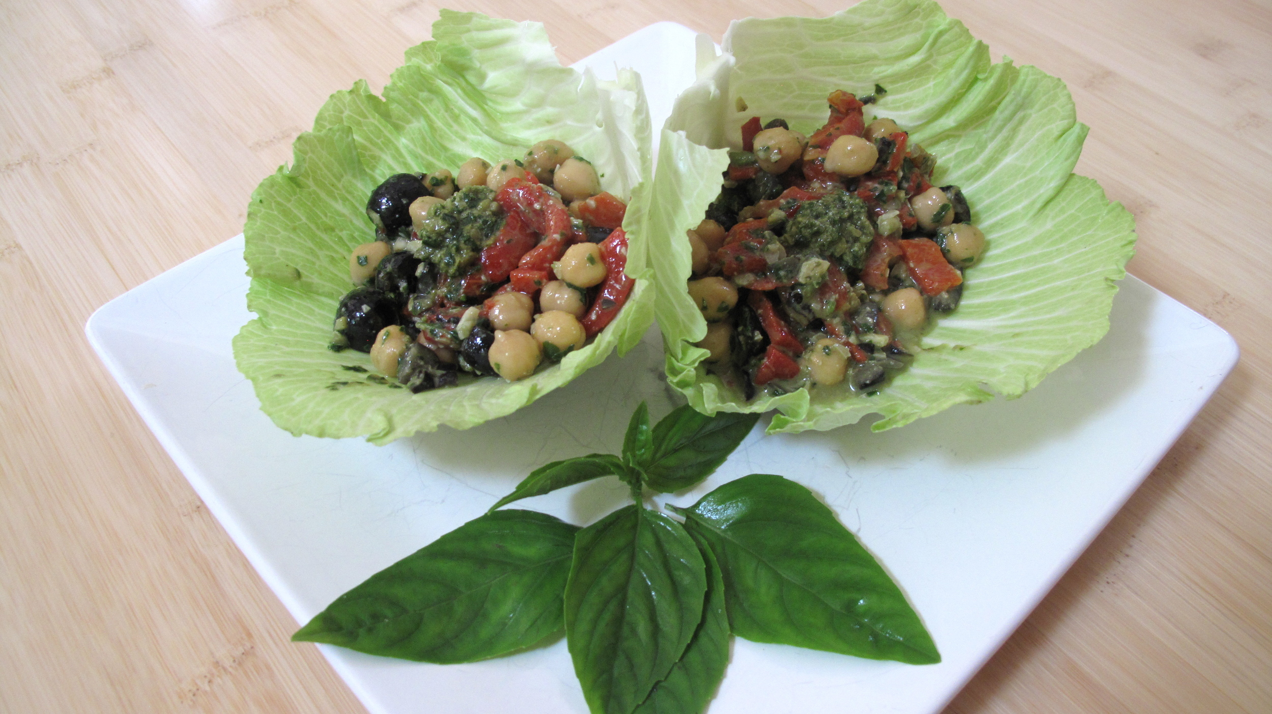 Make these wraps in a snap. Throw a few ingredients in a bowl and voilá, a healthy snack or meal.