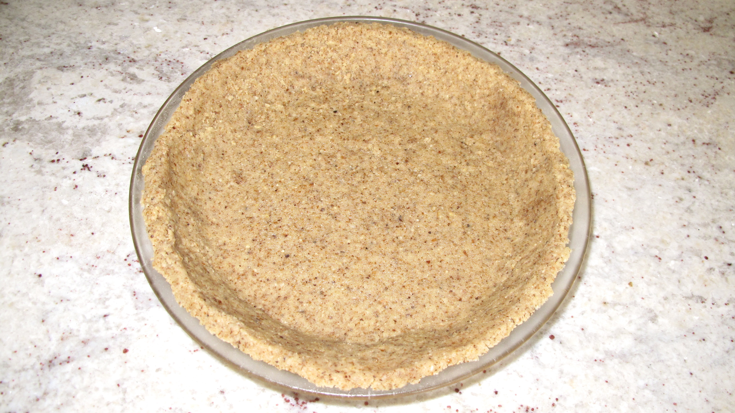 This is a great pie crust for those who have eliminated gluten and/or grains from their diet.