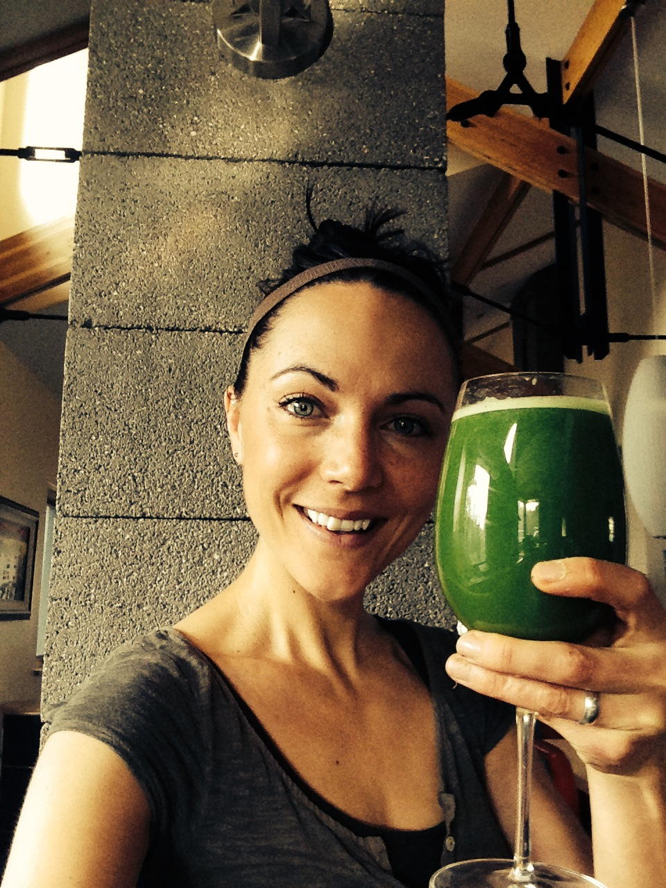 This is my favorite green juice to date. A little sweet, a lot healthy, and a lot delicious. Enjoy!