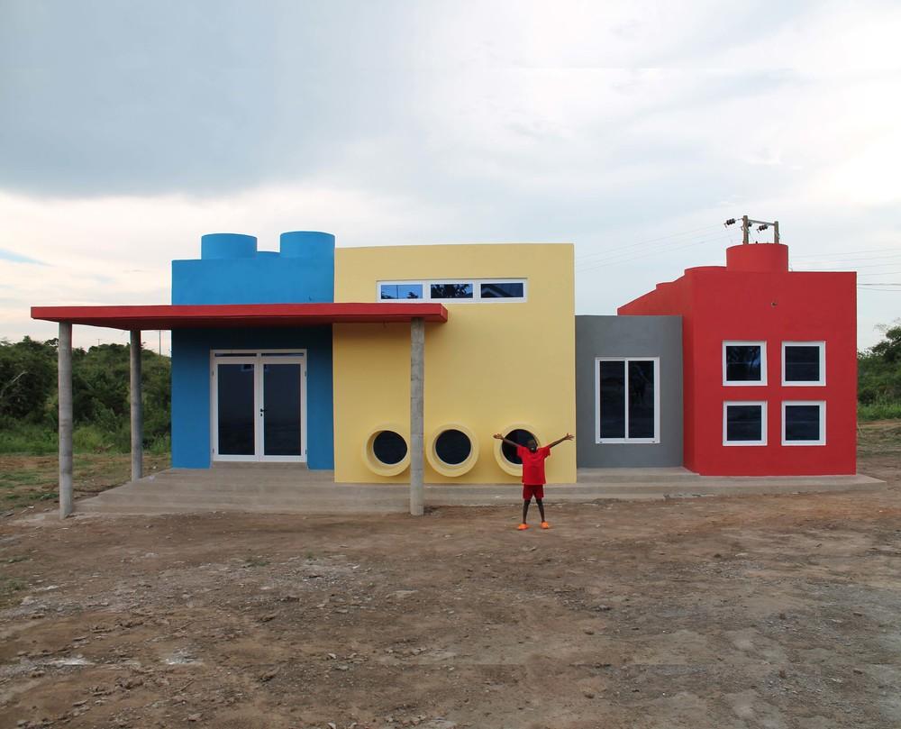 Touch A Life Art Center in Ghana