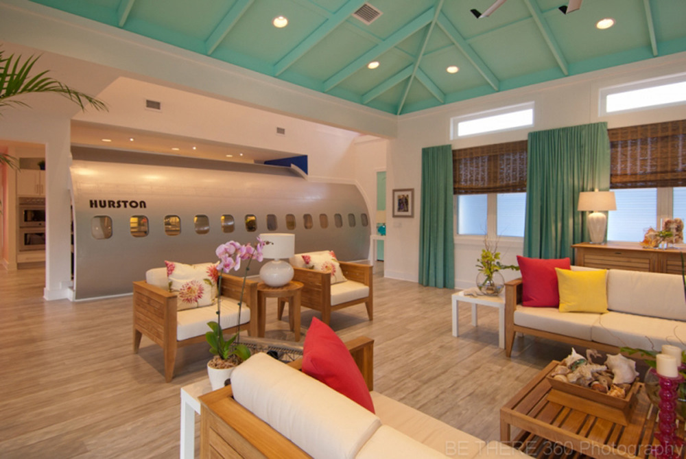 Kim lewis designs extreme makeover beach house for Extreme makeover home edition design game