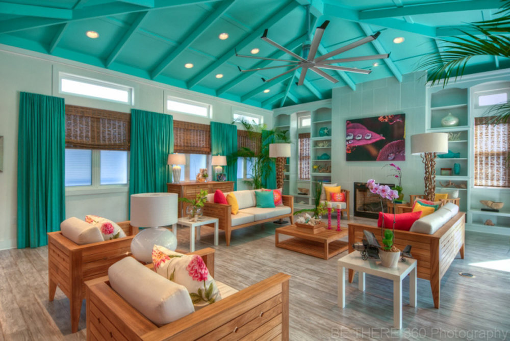 Kim Lewis Designs Extreme Makeover Beach House