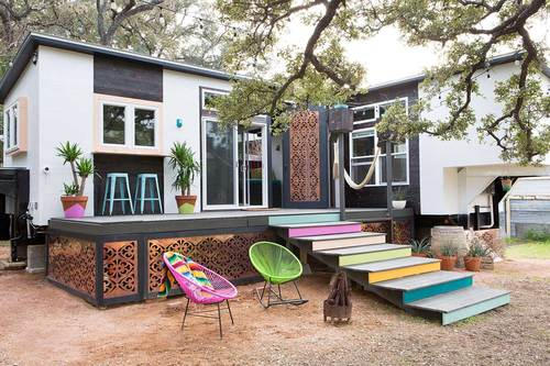 tiny house mid century marfa - Tiny Home Designers