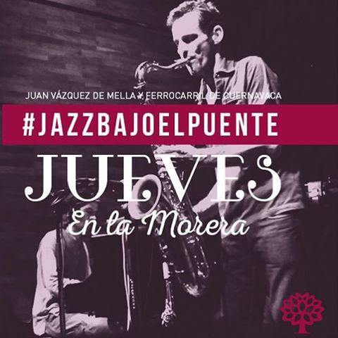 ¡Comenzamos en una hora! #JazzEnVivo