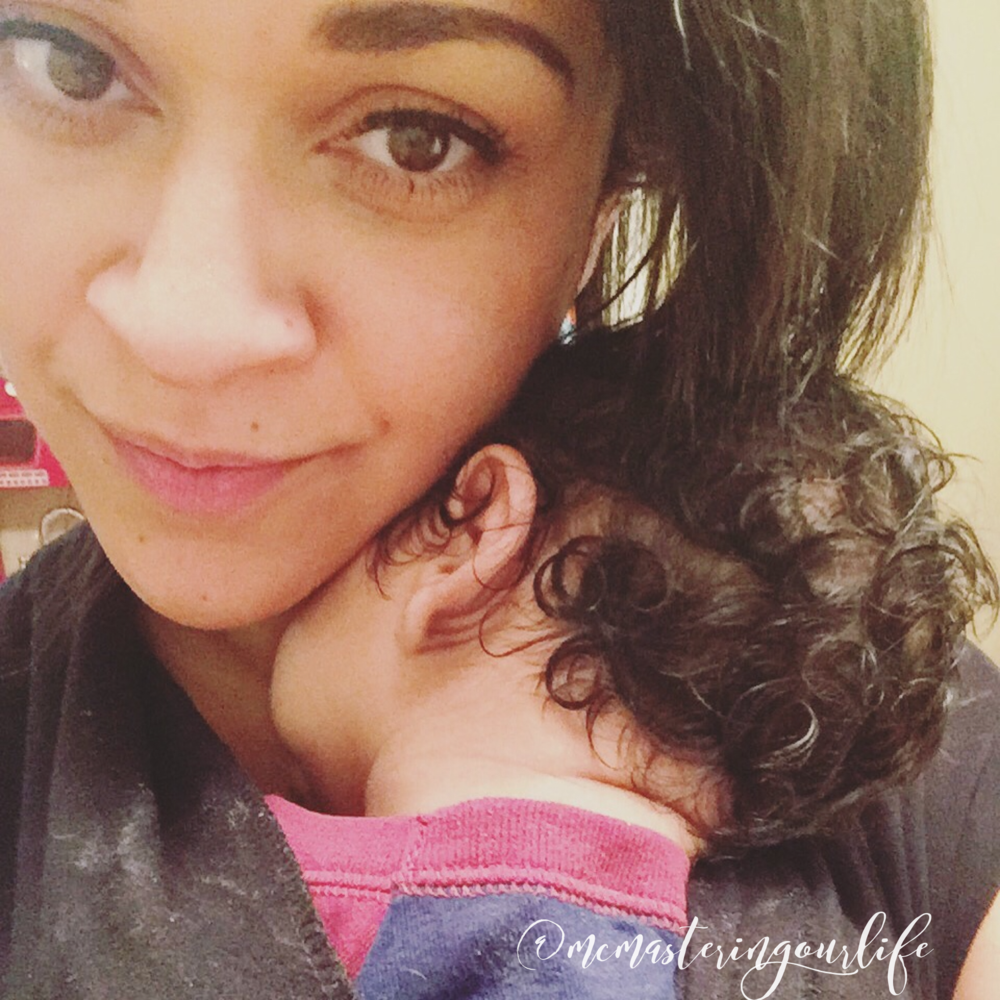 Baby wearing for the win!