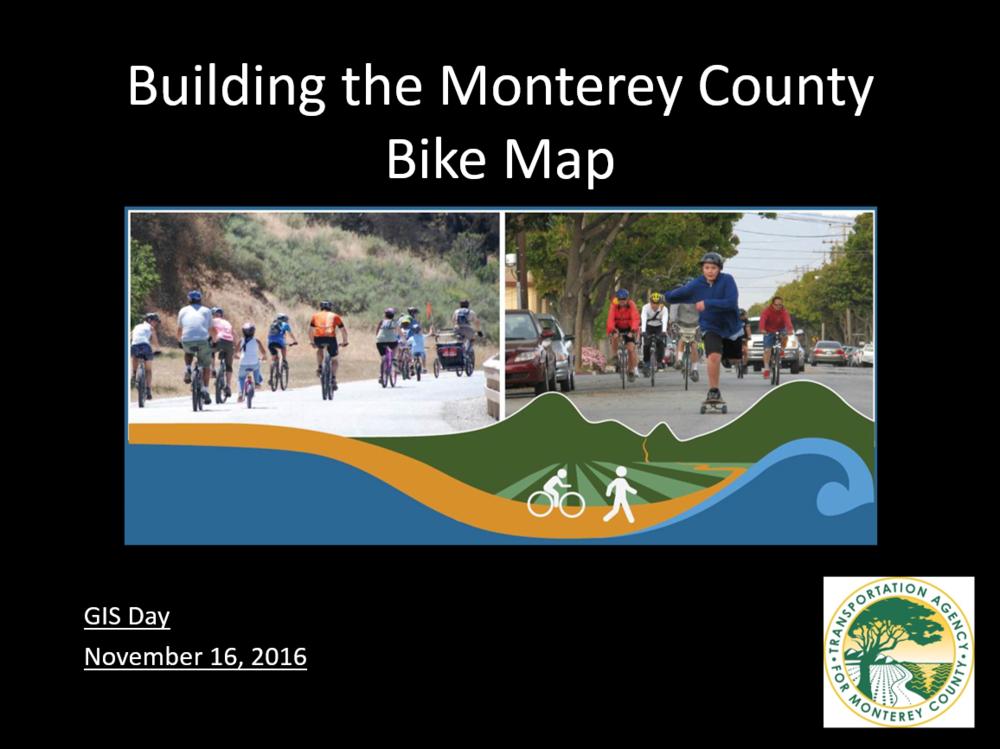 Monterey County Bike Map