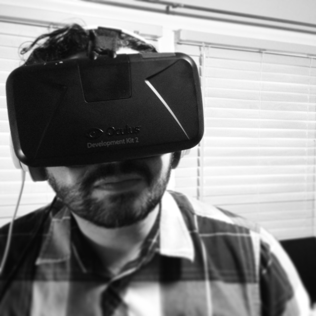 Jay Saenz and the DK2 by Oculus