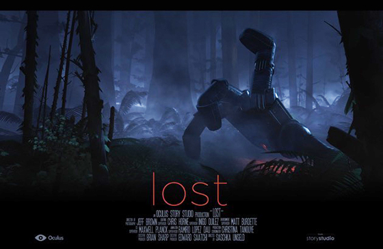 Oculus Story Studio's 'Lost'