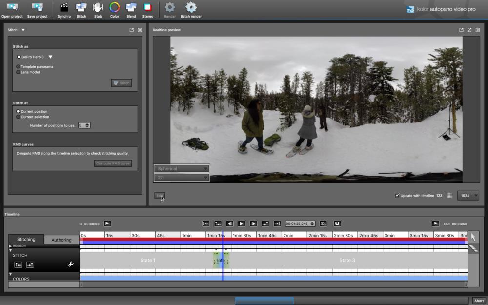 360 video edit