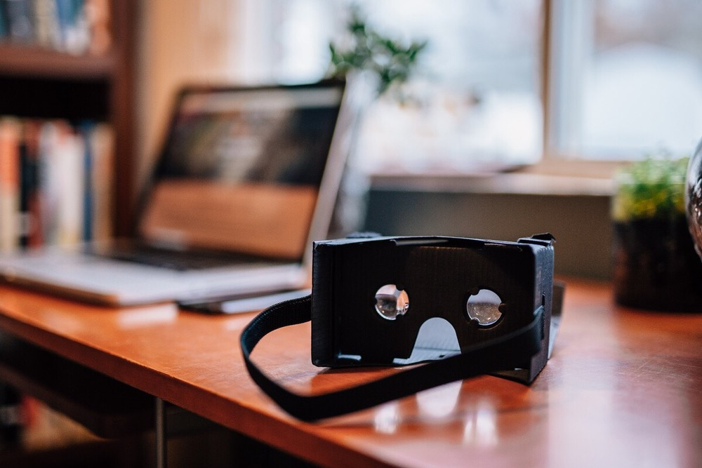 Google Cardboard is a cheap VR headset to experience weddings in.