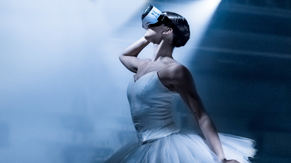 Night Fall, a ballet in virtual reality created by &samhound and Samsung.