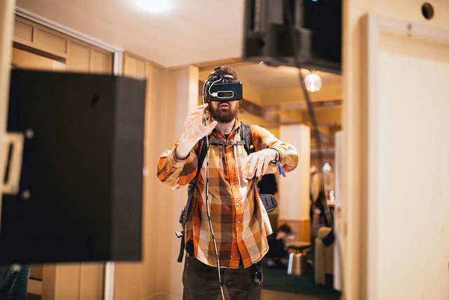 Feel in the middle of the sports action with VROOMCAM. Photo cred: Treefort Music Fest Flickr