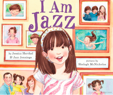 The cover of the children's book Jennings co-wrote, I Am Jazz .