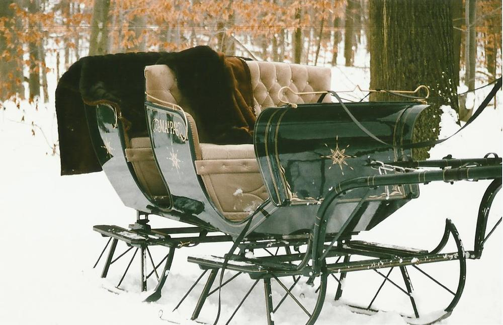 Ma and Pa sleigh rides page