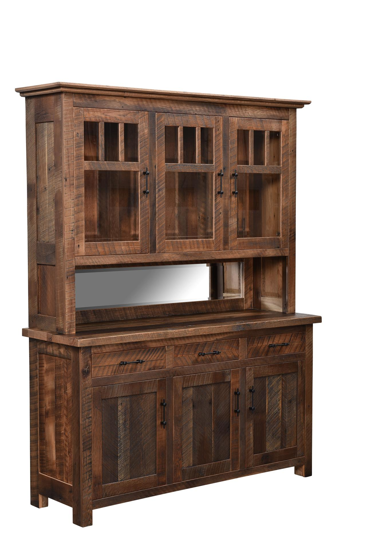 a homedecor hutch pin server diningroomideas for diningroomdecor barnwood diningroom new barndoor this farmhouse is