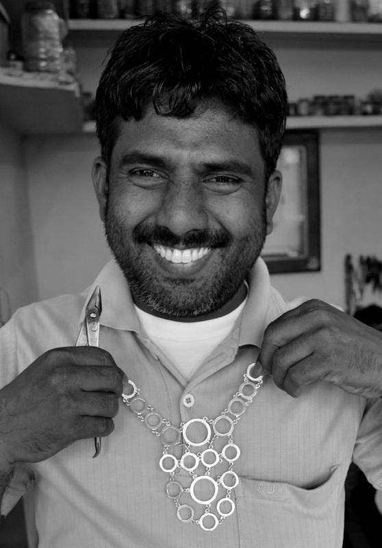 Fairtrade handmade necklace