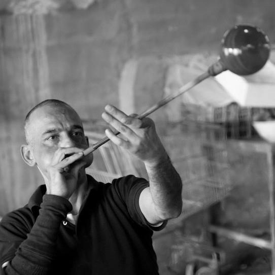 Hebron Glass artisan