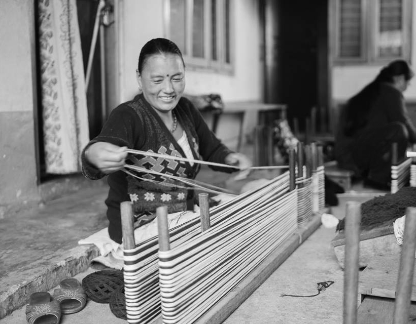 WSDO fair trade weaving artisan