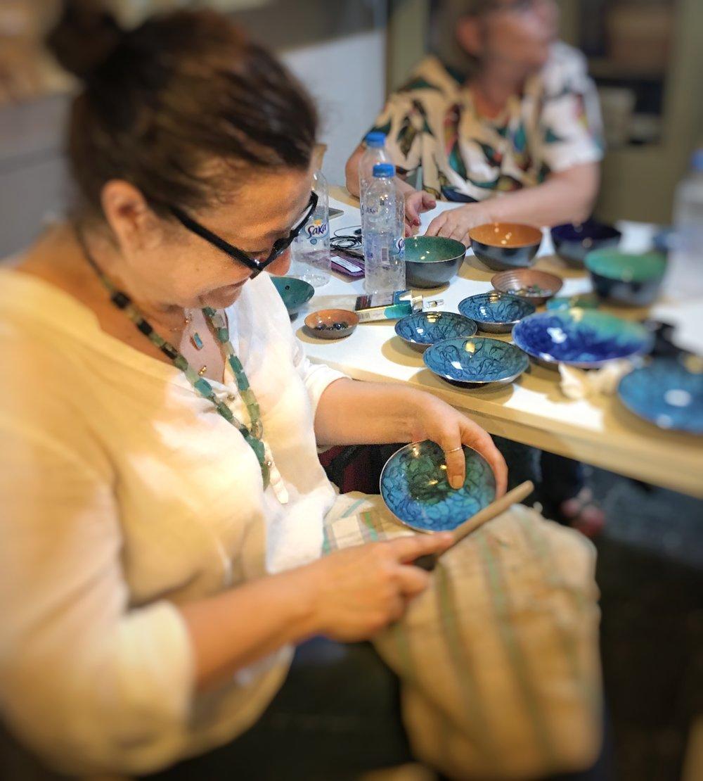 Atelier Turkuvez Enameling artisan
