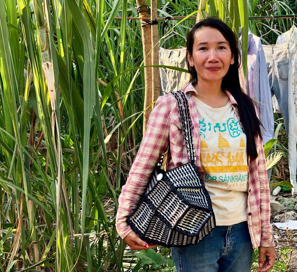 Cambodian weaving artisans