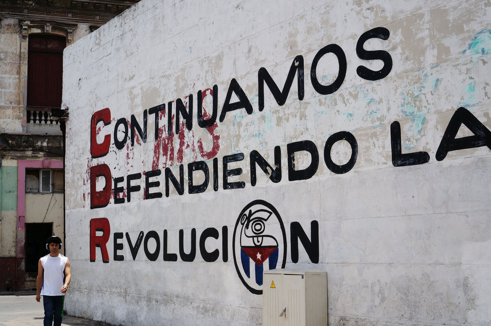 """Continue defending the Revolution"""