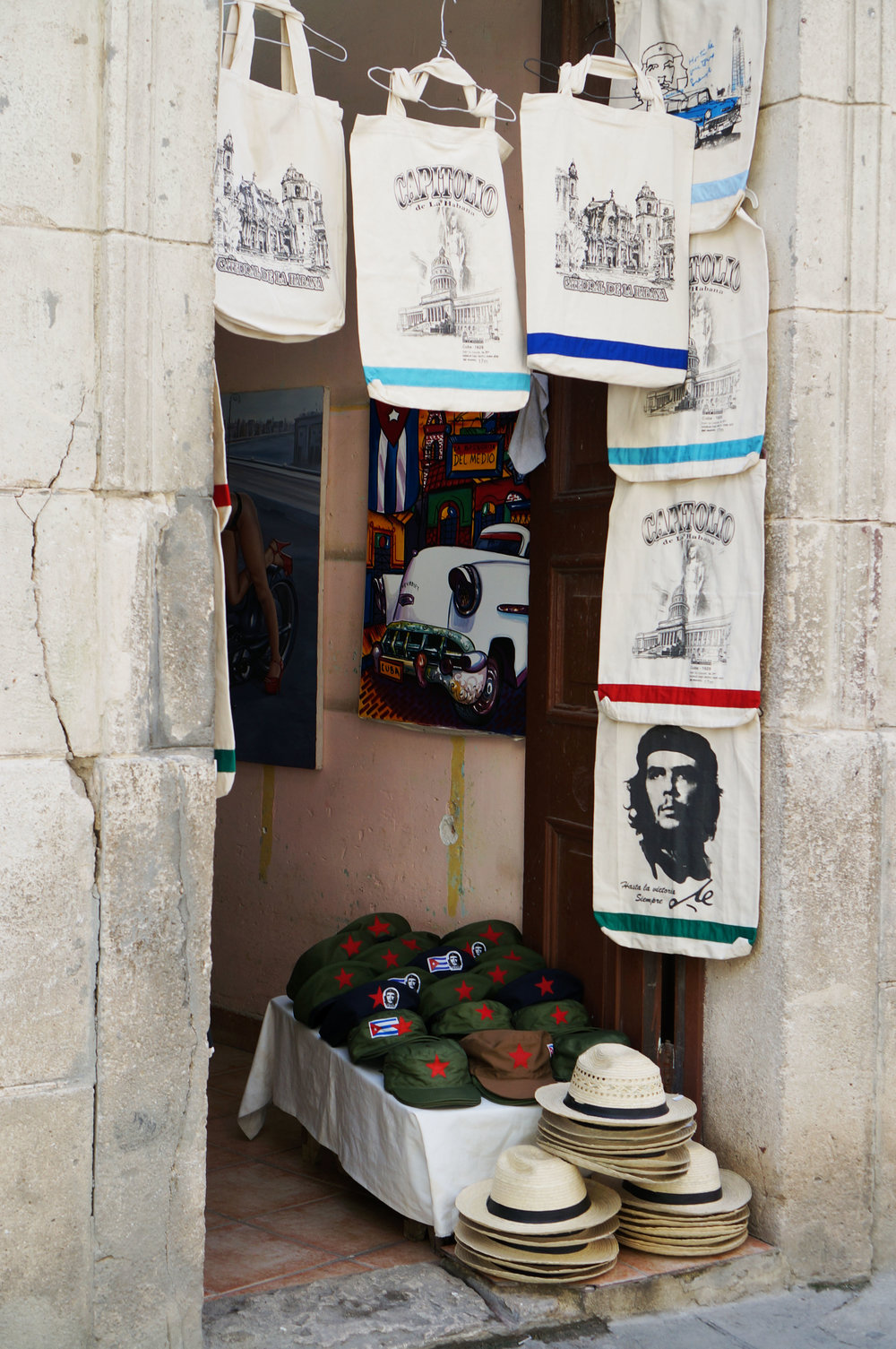 Revolution trinkets for tourists