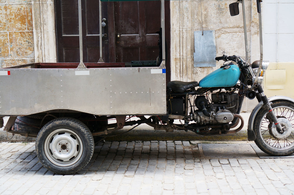 Motorcycle trailer conversion