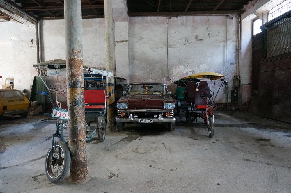 Bici-Cab Garage