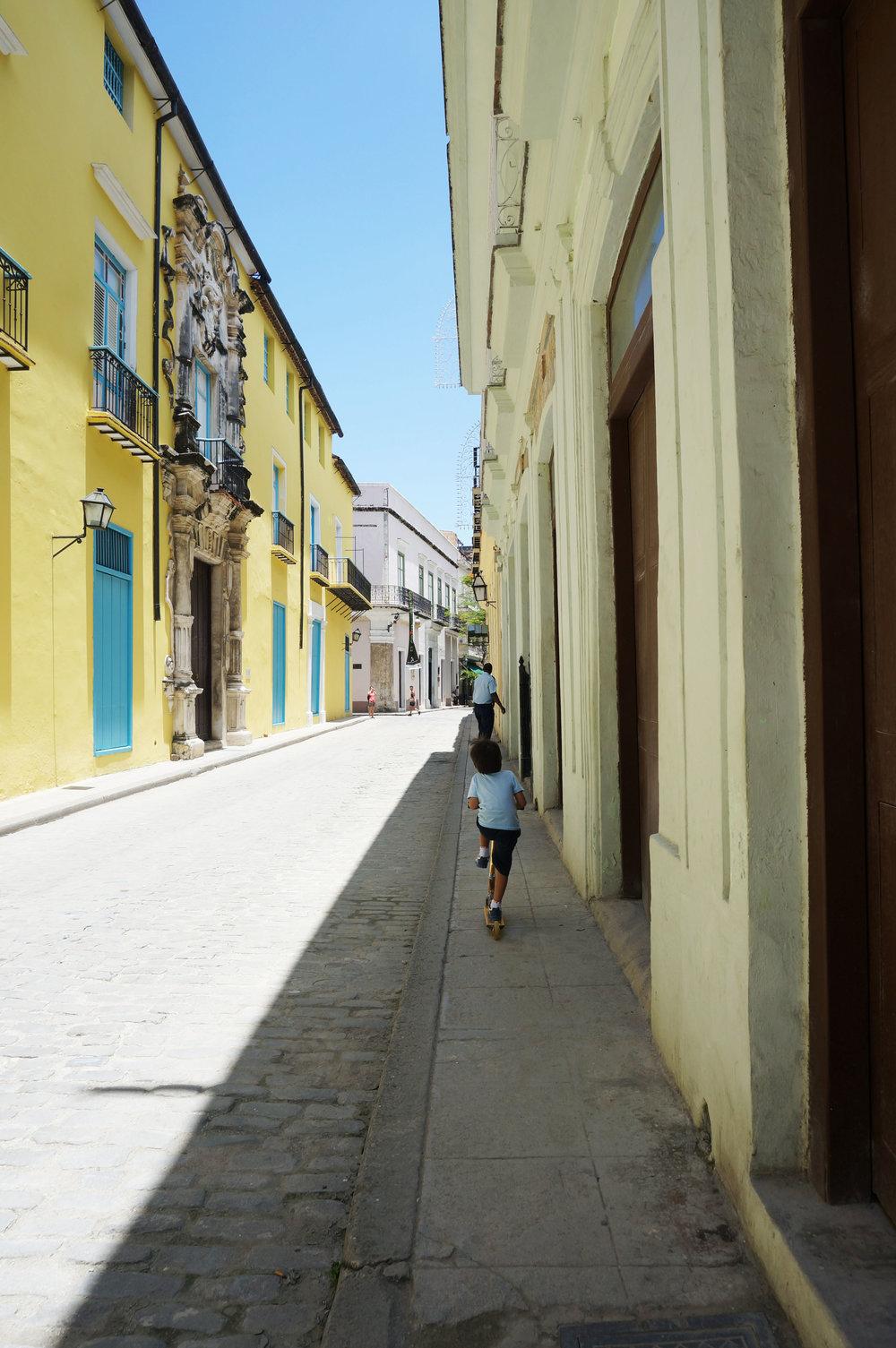 In Habana Vieja