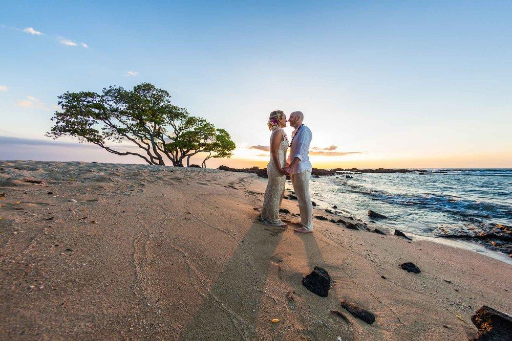 Kikaua Point Beach Park Wedding