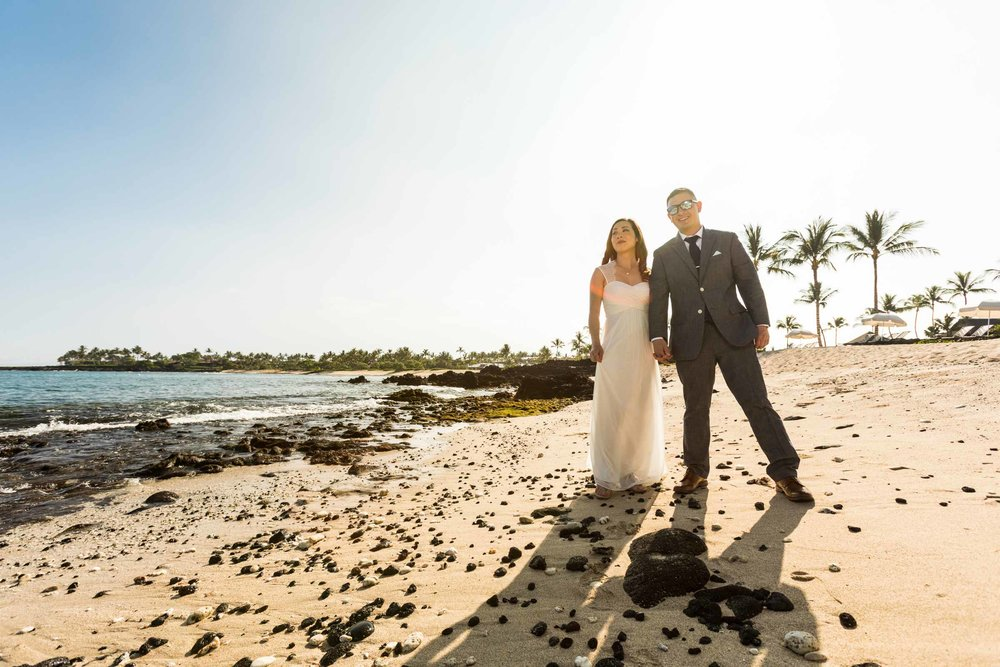 Kukio Beach Wedding