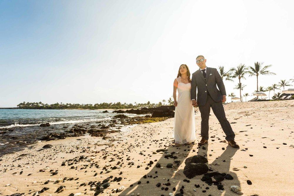 Kukio Beach Wedding