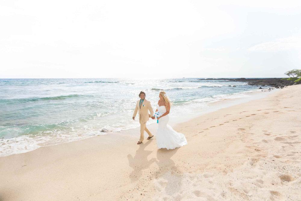 Kohana Iki Beach Wedding
