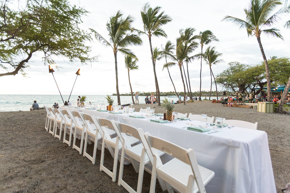 A-bay is the perfect location to have a beautiful dinner at the beach.
