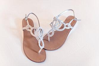 Wedding Shoes For A Beach Wedding Beach Glass Weddings