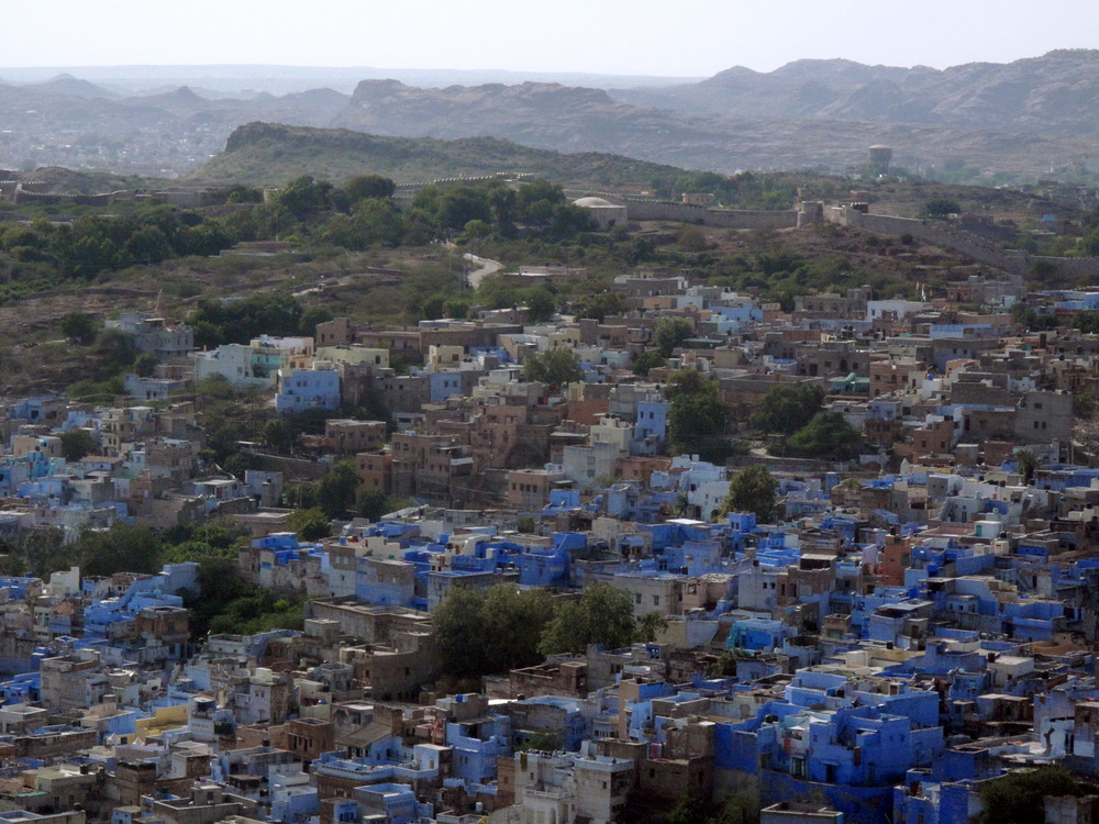 INDIA, JODHPUR (THE BLUE CITY)