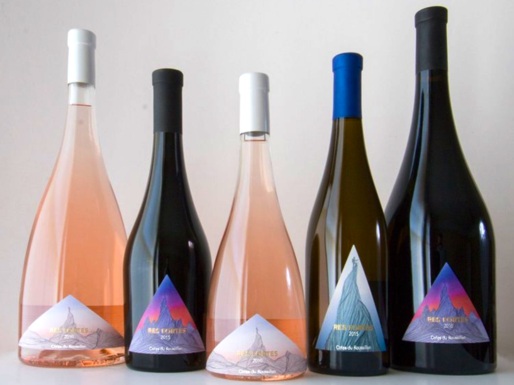 Res Fortes - Design for an Artisanal Wine Company