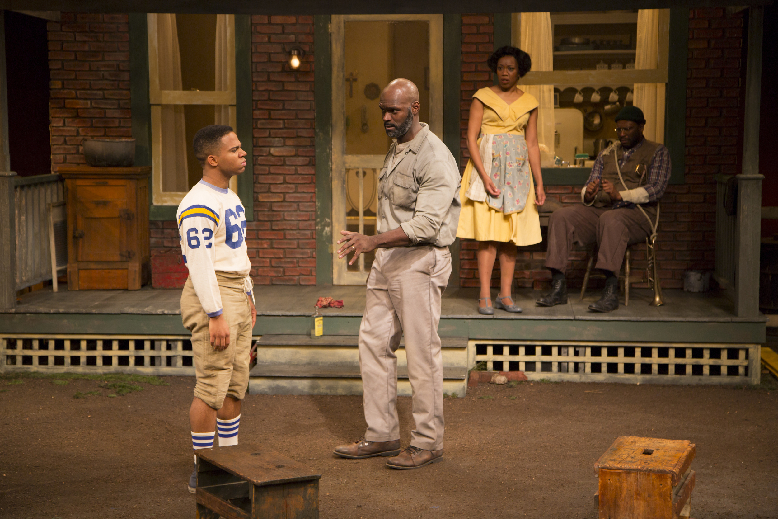 symbolism in fences by august wilson essay Through the play fences, august wilson intends to show how racial segregation and injustice can create hardships for families, a personal lack of self-esteem, and lead to uncontrollable circumstances.