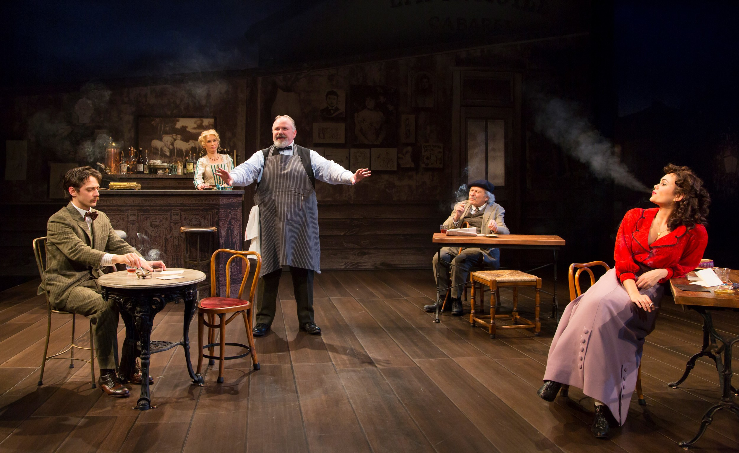 a play review of picasso at the lapin agile Einstein and picasso walk into a bar: 'picasso at the lapin agile' posted by editor  martin has definitely tweaked his play for this production it feels  an archive of her previews and reviews can be found at patlaunercom.