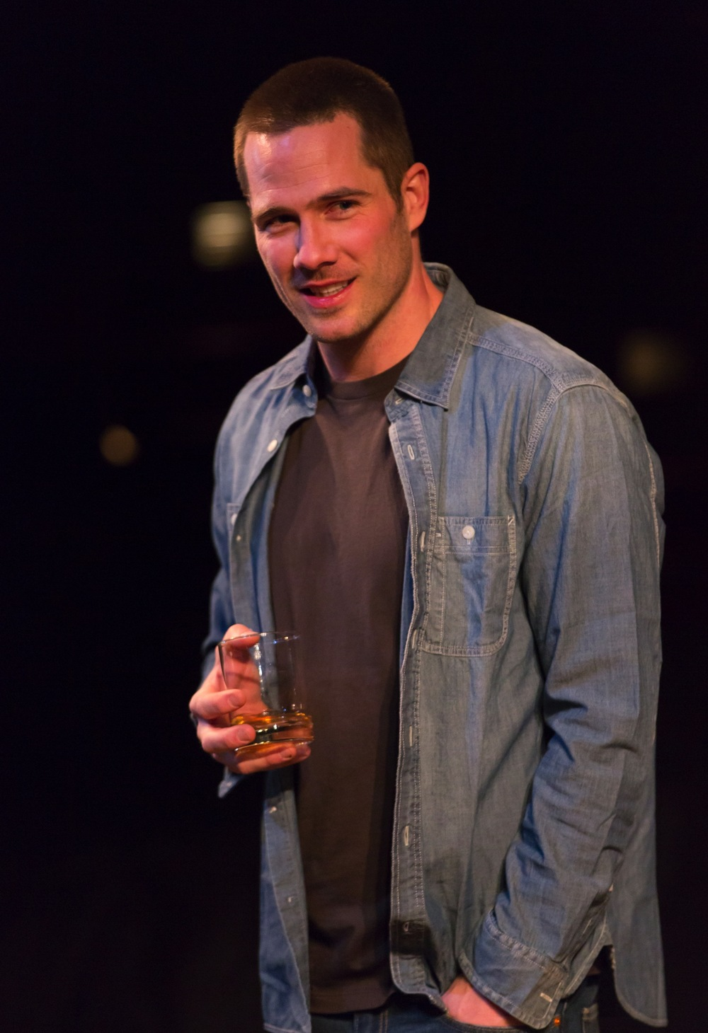 Luke Macfarlane as Jonathan in  Reverberation
