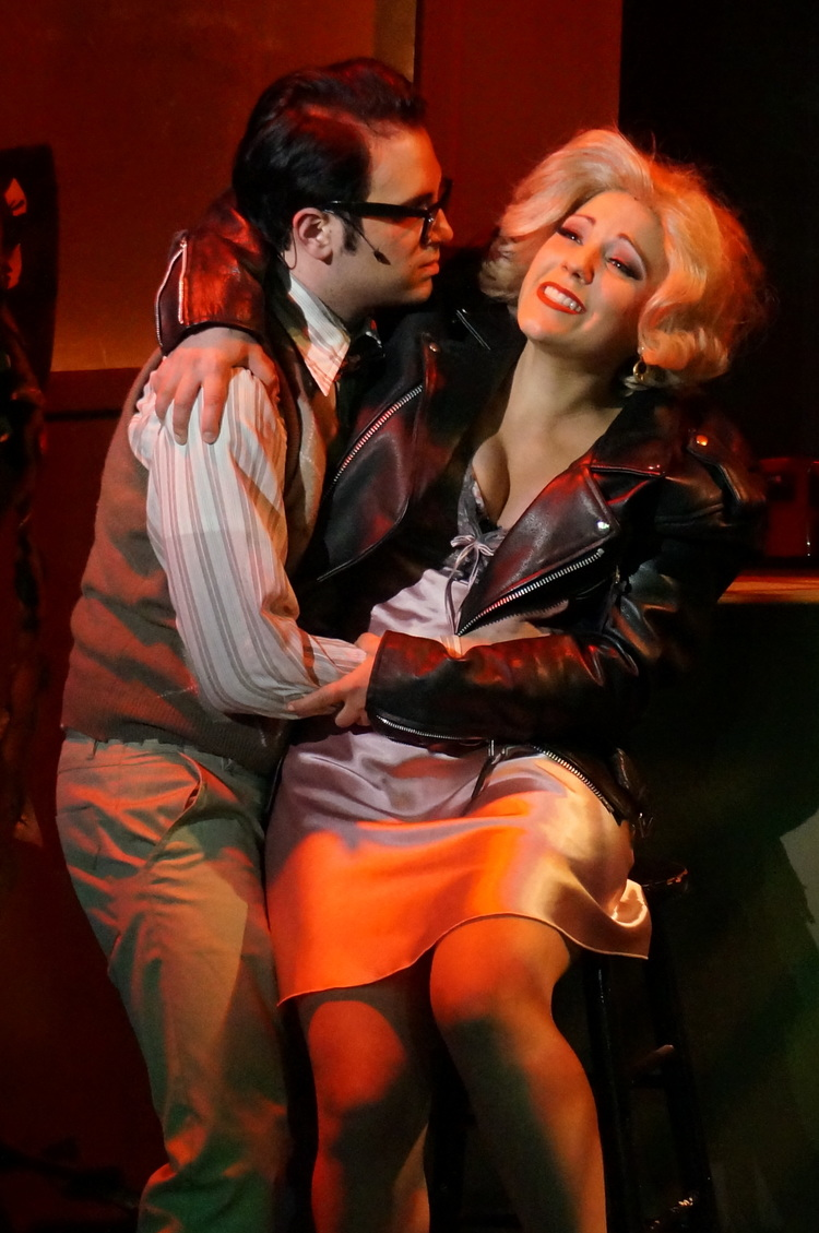 Seymour (Anthony DiCostanzo) and Audrey (Elissa DeMaria)