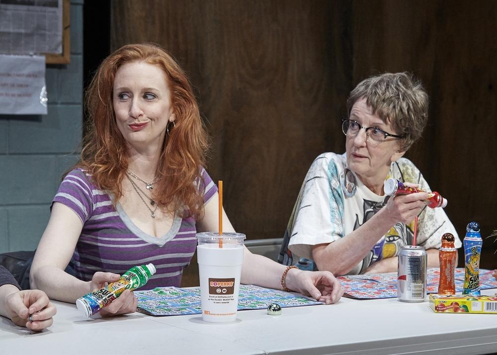 Megan Byrne (Jean), Audrie Neenan (Dottie)
