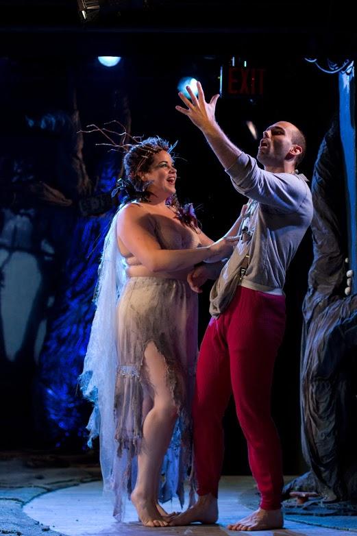 Titania (Melanie Field), Bottom (Andrej Visky)