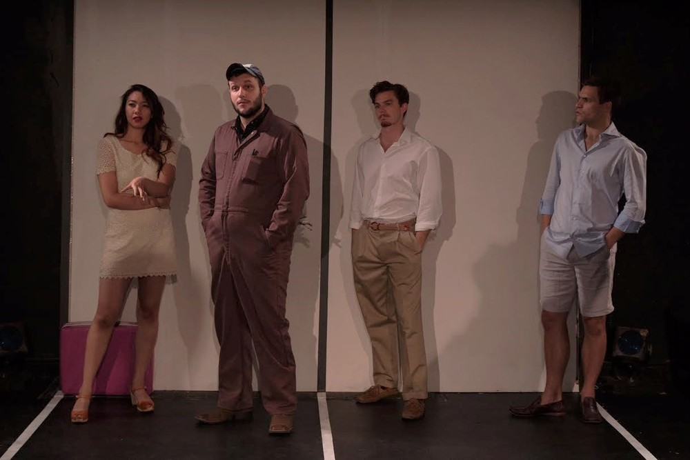 Jenelle Chu (Maria), Ian Williams (Bob), Sean Patrick Higgins (Frank), Christopher Ghaffari (Francois)