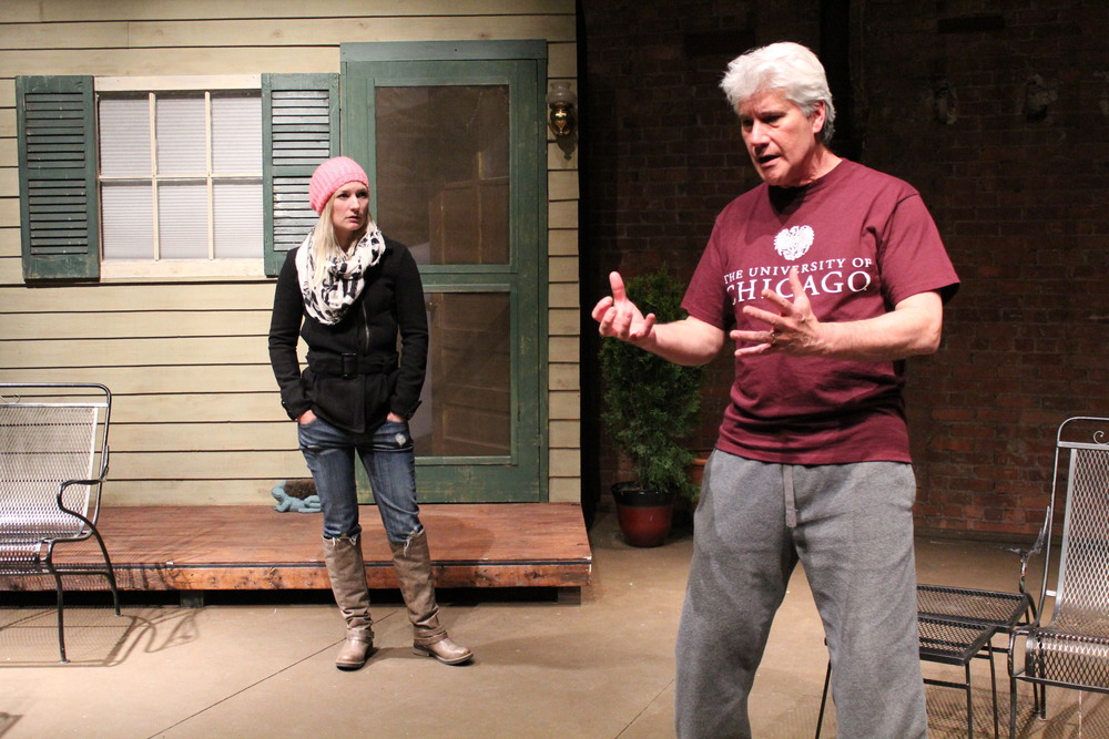 Cathy (Megan Keith Chenot), Robert (George Kulp)