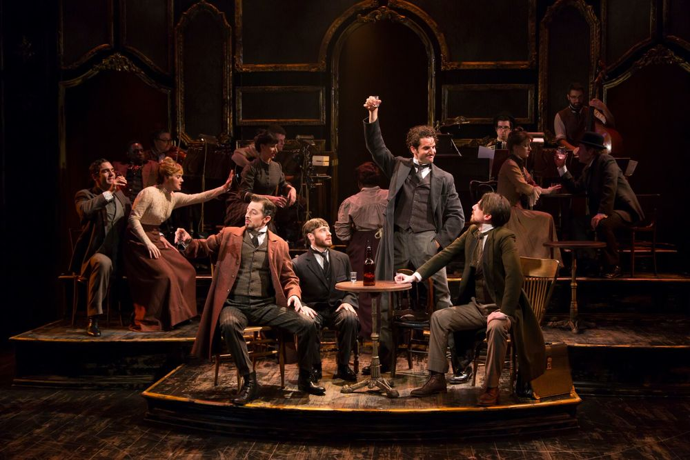 The cast of My Paris (photo: T. Charles Erickson)
