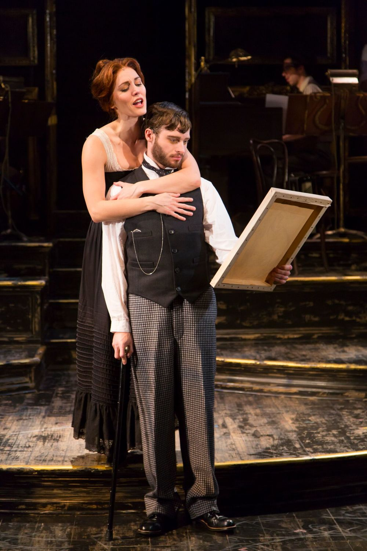 Suzanne Valadon (Mara Davi), Henri de Toulouse-Lautrec (Bobby Steggert) (photo: T. Charles Erickson